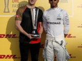 Hamilton collects fastest lap award