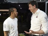 "Hamilton ""conflicted"" over comment about Wolff as future F1 boss"
