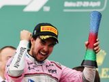 "Sergio Perez: ""Best Two Laps Of My Life"" En Route to Third Place"