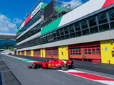 Ferrari in action at Mugello
