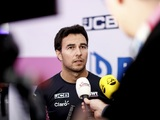 "Sergio Perez: ""It will be a long season but I'm looking forward to it"""