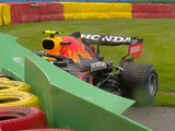 Perez crashes out ahead of the Belgian Grand Prix