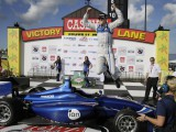 Chilton honours Bianchi, wins Indy Lights race in Iowa