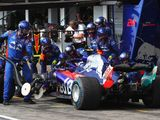 Pierre Gasly surprised by wet tyre switch in Germany