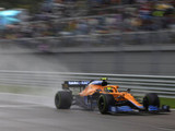 Norris takes maiden pole as Mercedes falters