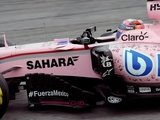 Perez thanks doctors after 'hardest race'