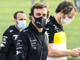 "Alonso input ""helpful"" ahead of Imola podium - Ricciardo"