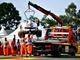 FP1: Raikkonen quickest, Massa crashes out