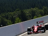 Wobble consigns Vettel to row two at Spa