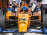 Alonso crashes during Indy practice