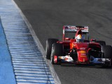 Vettel keeps Ferrari on top in Jerez test