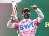 "Sergio Perez: ""It was an exciting race and a difficult one"""