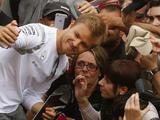 Rosberg on top as only Hamilton third