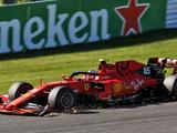 Charles Leclerc drops to seventh after two time penalties