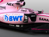 Force India in the pink for 2017