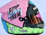 Daniel Ricciardo unveils stunning new race helmet colours for 2019 season