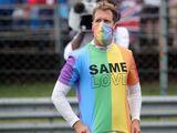 Vettel reprimanded for failing to remove t-shirt at Hungarian GP