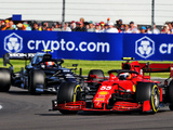 Sainz says Russell's 'obvious mistake' to blame for poor Sprint result