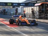 Norris gaining familiarity with Formula 1 after topping Tuesday test times