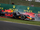 Vettel holds up in his hand over Verstappen crash