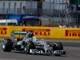 Hamilton wins as Rosberg retires