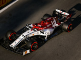 Raikkonen Disqualified from Baku Qualifying for Front Wing Deflection Issue