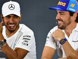 Hamilton reveals 'amazing' Alonso message