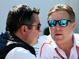 Brown: McLaren overhaul 'far from finished'