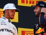 Ricciardo happy to take podium 'promotion'