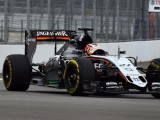 Nico Hulkenberg tops FP1 in Russia after diesel spill delays session
