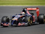 Kvyat quickest on second morning at Silverstone