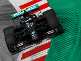 Qualy: Bottas spins off but still takes pole