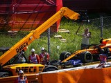 Norris: Stroll drove as though I'd disappeared in Spanish GP clash