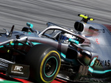Bottas quickest as drivers kick up dirt in FP2