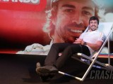 Formula 1 bids farewell to Alonso at paddock party