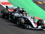 Hamilton quickest while Red Bull run into trouble