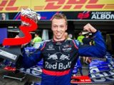 Kvyat Says Incredible Podium Finish Shows Everyone That He Has Matured