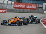 Palmer: 'Norris proved he was a match for Hamilton'