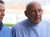 Sir Stirling Moss hospitalised after 'serious' chest infection