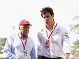 Lauda: 'Tough year' ahead for Mercedes