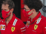 Vettel jokes Ferrari should 'leave Binotto at home' more often