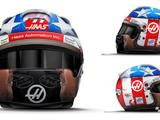 Romain Grosjean unveils Nicky Hayden tribute helmet for US GP