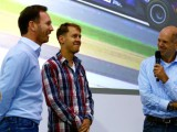 Vettel bids farewell to Red Bull in final factory visit