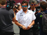 Alonso provisionally cleared