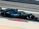 Vettel christens his Aston Martin AMR21 after a Bond girl