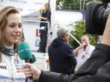 Floersch's father won't stop her from racing again