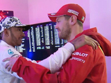 What Vettel told Hamilton after sixth title triumph
