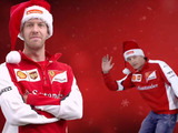 How the Formula 1 drivers celebrated Christmas