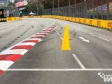 F1 drivers warned over Singapore Turn 7 track limits