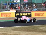 Ocon 'Pretty Happy' with Return to Top Ten in Silverstone Qualifying
